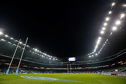 A general view inside Twickenham Stadium - Photo mandatory by-line: Rogan Thomson/JMP - 07966 386802 - 22/11/2014 - SPORT - RUGBY UNION - London, England - Twickenham Stadium - England v Samoa - QBE Autumn Internationals.