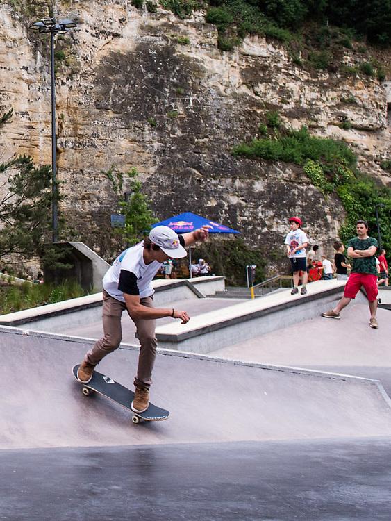 Red Bull 3 en 1 , Skatepark Peitruss, Luxembourg