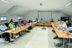 Meeting of Executive Committee of Ski Association of Slovenia (SZS) on June 16, 2015 in Ljubljana, Slovenia. Photo by Vid Ponikvar / Sportida