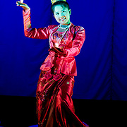 Traditional performer of Mintha Theatre