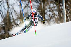"Irene Curtoni (ITA) during FIS Alpine Ski World Cup 2016/17 Ladies Slalom race named ""Snow Queen Trophy 2017"", on January 3, 2017 in Course Crveni Spust at Sljeme hill, Zagreb, Croatia. Photo by Žiga Zupan / Sportida"