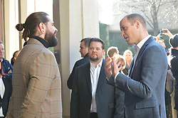 The Duke of Cambridge arrives at Pall Mall Barbers in Paddington, west London, where he will meet members of the Lion Barbers Collective, who are raising awareness of suicide prevention through a programme called BarbersTalk.