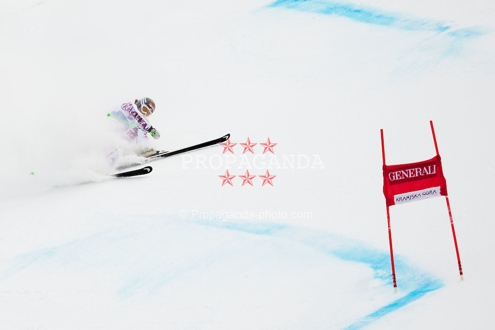 21.01.2012, Podkorn, Kranjska Gora, SLO, FIS Weltcup Ski Alpin, Kranjska Gora, Damen, Riesentorlauf, 2. Durchgang, im Bild Elisabeth Goergl of Austria did not finish the race during 2nd Run of 48th Golden Fox Audi Alpine FIS Ski World Cup Ladies Giant Slalom, on January 21, 2012 in Podkorn, Kranjska Gora, Slovenia. EXPA Pictures © 2012, PhotoCredit: EXPA/ Sportida/ Matic Klansek Velej..***** ATTENTION - OUT OF SLO *****