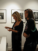 Princess Chantal of Hanover and  Countess Leopold von Bismark. the Decca Years. Iconic photographs of the Rolling Stones, Atlas Gallery. Dorset St. 4 September 2002. © Copyright Photograph by Dafydd Jones 66 Stockwell Park Rd. London SW9 0DA Tel 020 7733 0108 www.dafjones.com