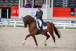 Carrascosa Borja, ESP, Ein Traum 2<br /> European Championship Dressage<br /> Rotterdam 2019<br /> © Hippo Foto - Stefan Lafrentz<br /> Carrascosa Borja, ESP, Ein Traum 2