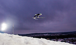 26.02.2015, Lugnet Ski Stadium, Falun, SWE, FIS Weltmeisterschaften Ski Nordisch, Skisprung, Herren, Finale, im Bild Peter Prevc (SLO) // Peter Prevc of Slovenia during the Mens Skijumping Final of the FIS Nordic Ski World Championships 2015 at the Lugnet Ski Stadium, Falun, Sweden on 2015/02/26. EXPA Pictures © 2015, PhotoCredit: EXPA/ JFK