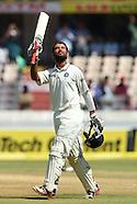 Cricket - India v Australia 2nd Test Day3 Hyderabd