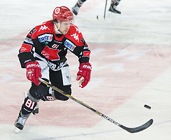 13.12.2015, Tiroler Wasserkraft Arena, Innsbruck, Österreich, EBEL, HC TWK Innsbruck die Haie vs HC Orli Znojmo, 30. Runde, im Bild Nick Ross (HC TWK Innsbruck  Die Haie) // during the Erste Bank Icehockey League 30th round match between HC TWK Innsbruck  die Haie and HC Orli Znojmo at the Tiroler Wasserkraft Arena in Innsbruck, Austria on 2015/12/13. EXPA Pictures © 2015, PhotoCredit: EXPA/ Jakob Gruber