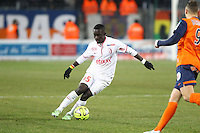 IDRISSA GUEYE - 07.02.2015 - Montpellier / Lille - 24eme journee de Ligue 1<br /> Photo : Andre Delon / Icon Sport