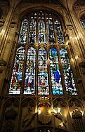 Kings College Chapel stain glass window