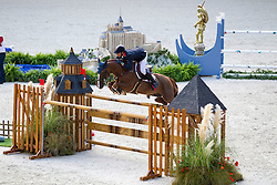 Kevin Staut, (FRA), Reveur De Hurtebise HDC - Team & Individual Competition Jumping Speed - Alltech FEI World Equestrian Games™ 2014 - Normandy, France.<br /> © Hippo Foto Team - Leanjo De Koster<br /> 02-09-14