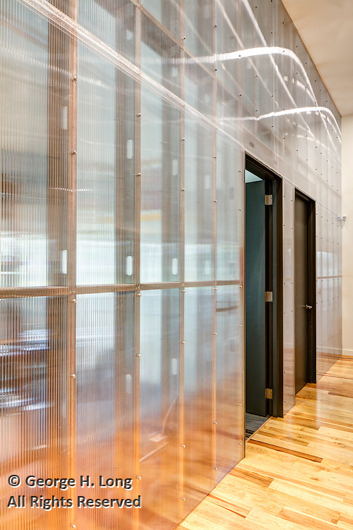 architectural interiors at Bond Moroch for Studio WTA on November 2, 2016