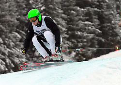 Simon Jecl of Slovenia at FIS World Cup Ski cross race, on December 22, 2009 in Innichen / San Candido, Italy. (Photo by Grega Stopar)