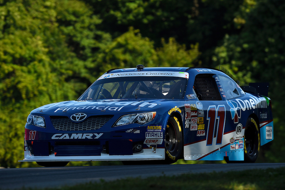 15-16 August, 2014, Lexington, Ohio USA<br /> Elliott Sadler, OneMain Financial Toyota Camry<br /> &copy;2014, Scott R LePage <br /> LAT Photo USA