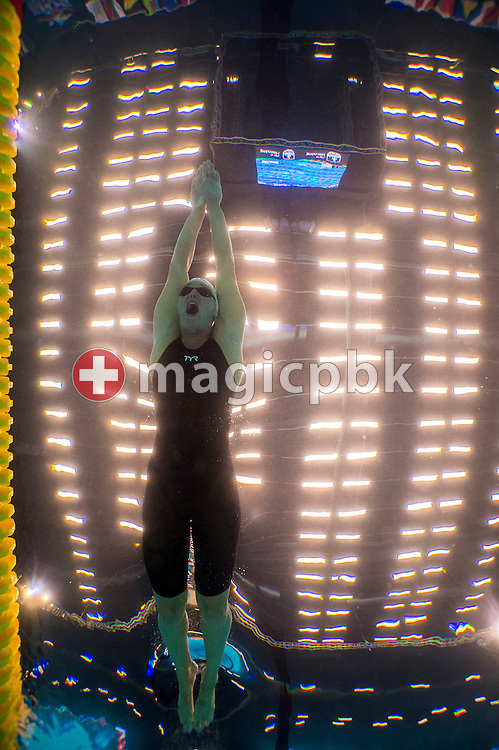 Jeanette OTTESEN GRAY of Denmark competes in the women's 50m Butterfly Heats during the 17th European Short Course Swimming Championships held at the Jyske Bank BOXEN in Herning, Denmark, Friday, Dec. 13, 2013. (Photo by Patrick B. Kraemer / MAGICPBK)