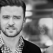 """Black & White Portrait """"Justin Timberlake"""" during the 66th Annual Cannes Film Festival"""