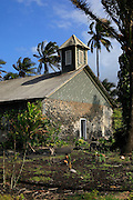Keanae Congregational Church, Church, 1860, Keanae Peninsula, Hana Coast, Maui, Hawaii