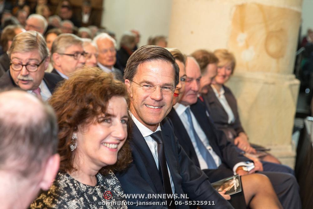 NLD/Naarden/20180330 - Matthaus Passion in de grote kerk van Naarden 2018, Mark Rutte en Ingrid van Engelshoven