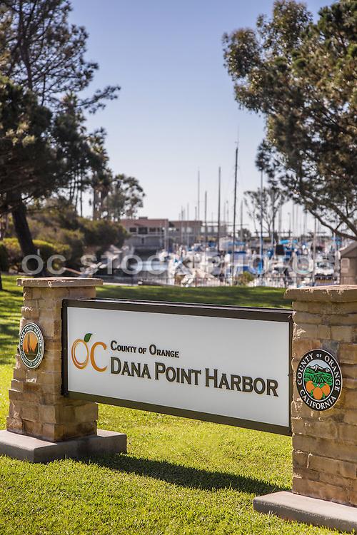 County of Orange Dana Point Harbor Signage