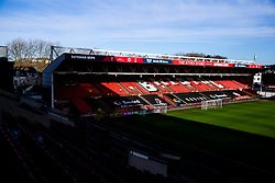 General View of the Atyeo Stand with Beard sponsored netting - Rogan/JMP - 18/01/2020 - Ashton Gate Stadium - Bristol, England - Bristol City v Barnsley - Sky Bet Championship.