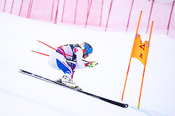 08.02.2019, Aare, SWE, FIS Weltmeisterschaften Ski Alpin, alpine Kombination, Abfahrt, Damen, im Bild Anne-Sophie Barthet (FRA) // Anne-Sophie Barthet of France during the downhill competition of Alpine combination of the ladies of FIS Ski World Championships 2019. Aare, Sweden on 2019/02/08. EXPA Pictures © 2019, PhotoCredit: EXPA/ Johann Groder