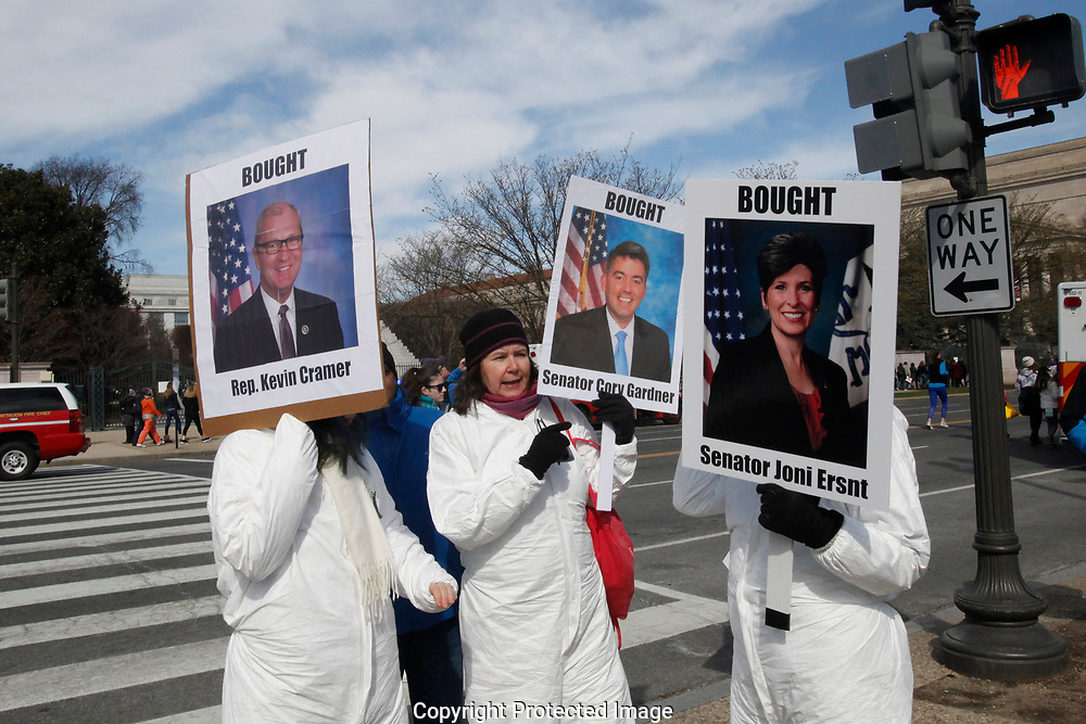 The March for Our Lives rally on Pennsylvania Avenue in Washington, D.C. on March 24, 2018.<br />
