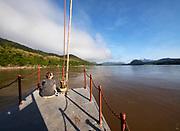 Laos. Luang Say Cruise on the Mekong.
