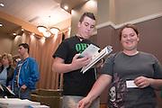 Appalachian Scholars Open House Program in New Baker..Tyler Glidden &.Lindy Wise from Shenandoah High School