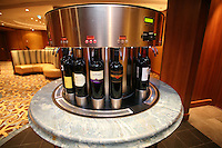 The launch of Royal Caribbean International's Oasis of the Seas, the worlds largest cruise ship..Opus wine bar.