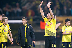 01.11.2011, Signal Iduna Park, Dortmund, GER, UEFA Champions League, Vorrunde, Borussia Dortmund (GER) vs Olympiacos Piraeus (GRE), im Bild Mats Hummels (#15 Dortmund) nach dem Spiel // during Borussia Dortmund (GER) vs Olympiacos Piraeus (GRE) at Signal Iduna Park, Dortmund, GER, 2011-11-01. EXPA Pictures © 2011, PhotoCredit: EXPA/ nph/  Kurth       ****** out of GER / CRO  / BEL ******