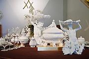 Porzellanmanufaktur Meißen, Ausstellung, Sachsen, Deutschland. .porcelaine maufacture Meissen, Saxony, Germany.