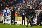 Scunthorpe United Manager, Graham Alexander during the EFL Sky Bet League 1 match between Bristol Rovers and Scunthorpe United at the Memorial Stadium, Bristol, England on 25 February 2017. Photo by Adam Rivers.