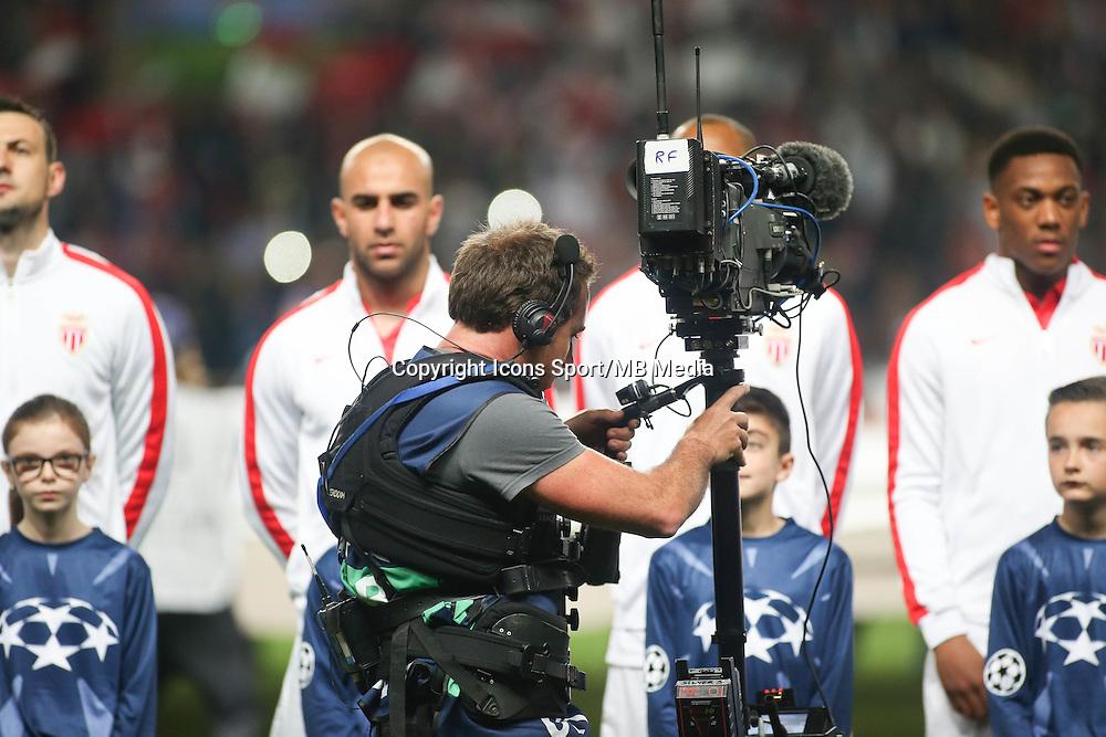 Ilustration Camera  - 22.04.2015 - Monaco / Juventus Turin - 1/4Finale retour Champions League<br />Photo : Serge Haouzi / Icon Sport