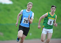 21 Aug 2016:  Boys U16 200m final. 2016 Community Games National Festival 2016.  Athlone Institute of Technology, Athlone, Co. Westmeath. Picture: Caroline Quinn