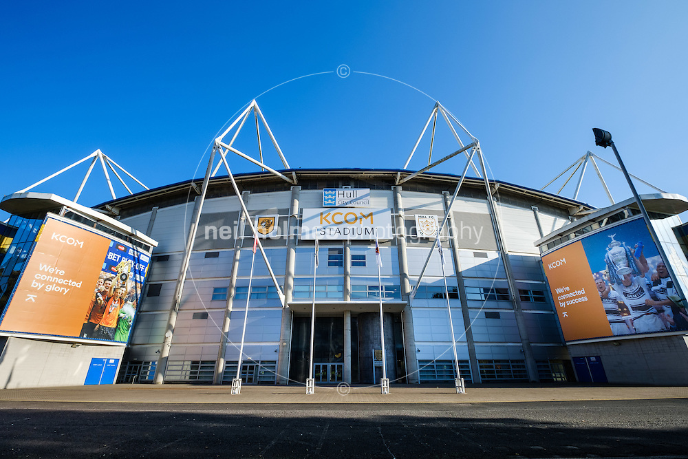 Kcom Stadium, Kingston Upon Hull, East Yorkshire, United Kingdom, 25 October, 2016. Pictured: Kcom Stadium