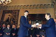Incontro con D'Alema 1999<br /> gianluca basile