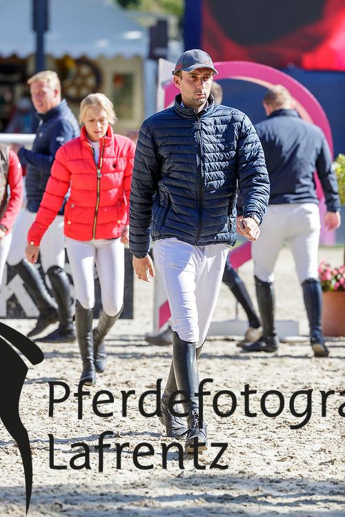NIELSEN Denis (GER)<br /> Paderborn - OWL Challenge 5. Etappe BEMER Riders Tour 2019<br /> Impressionen am Rande<br /> Parcourbesichtigung<br /> 14. September 2019<br /> © www.sportfotos-lafrentz.de/Stefan Lafrentz