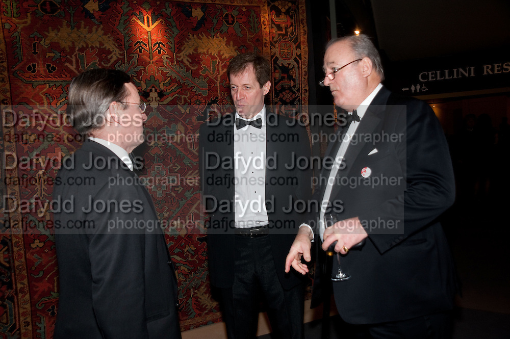 ALASTAIR CAMPBELL; LORD CADOGAN, Bada Antiques Fine art Fair charity Gala. In aid of Leukaemia and Lymphoma Research. 18 March 2010.