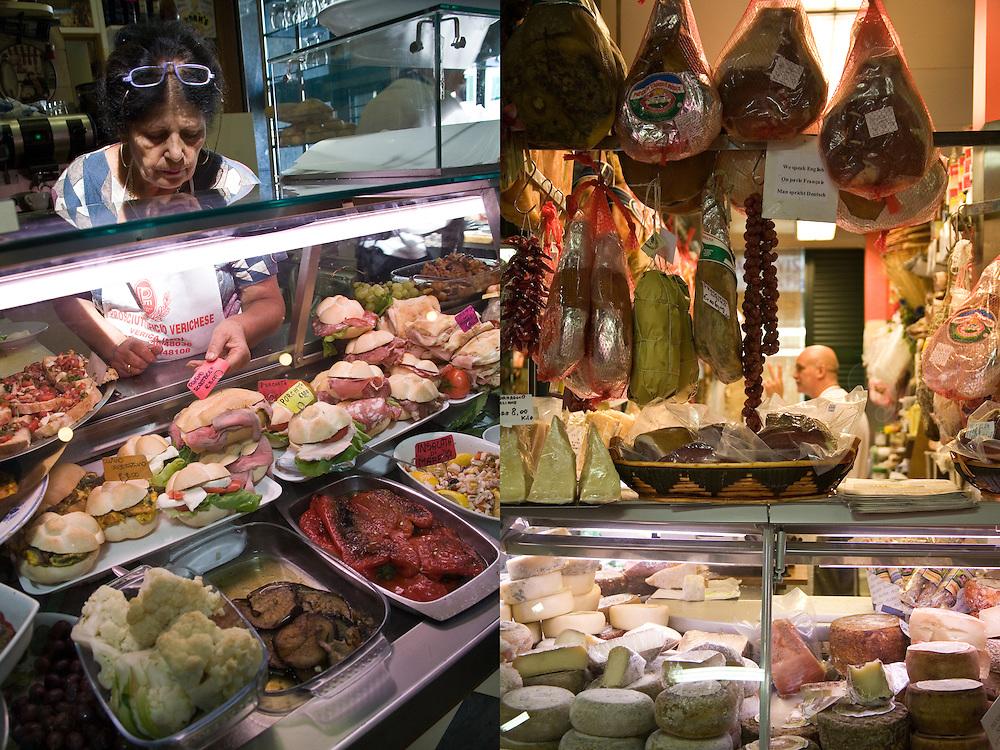 Mercado Central . Florence, Italy