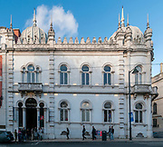 Embaixada shopping mall in a new-Arabian style palace on Dom Pedro V street, Lisbon, Portugal