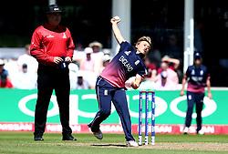 Danielle Hazell of England Women bowls - Mandatory by-line: Robbie Stephenson/JMP - 02/07/2017 - CRICKET - County Ground - Taunton, United Kingdom - England Women v Sri Lanka Women - ICC Women's World Cup Group Stage