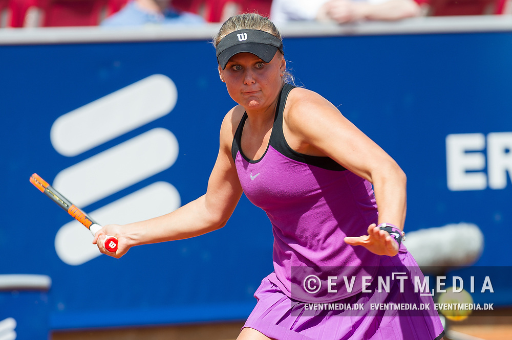 Kateryna Kozlova (Ukraine) at the 2017 WTA Ericsson Open in Båstad, Sweden, July 28, 2017. Photo Credit: Katja Boll/EVENTMEDIA.