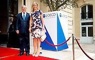 Koningin Máxima spreekt bij OESO bijeenkomst in PARIJS