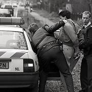 NLD/Bussum/19940201 - Arrestatie van een autodief El Idriessie uit Weesp, auto gestolen in Hilversum
