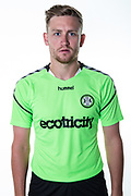 Forest Green Rovers Dayle Grubb during the 2018/19 official team photocall for Forest Green Rovers at the New Lawn, Forest Green, United Kingdom on 30 July 2018. Picture by Shane Healey.