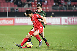 March 9, 2019 - Dijon, France - 22 CHANGHOON KWON (DIJ) - 32 THOMAS FOKET  (Credit Image: © Panoramic via ZUMA Press)