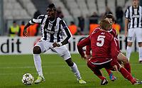 Paul Pogba Juventus<br /> Calcio Juventus Nordsjaelland<br /> Champions League - Torino 07/11/2012 Juventus Stadium <br /> Football Calcio 2012/2013<br /> Foto Federico Tardito Insidefoto