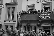 LAURA ALVAREZ, JEREMY CORBIN,  ROYAL COUNTY HOTEL, , The Durham Miners Gala, Durham. 13 July 2019