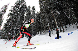 Alexander Wolf of Germany during the Mixed 2x6 + 2x7,5km relay of the e.on IBU Biathlon World Cup on Saturday, December 19, 2010 in Pokljuka, Slovenia. The fourth e.on IBU World Cup stage is taking place in Rudno polje - Pokljuka, Slovenia until Sunday December 19, 2010. (Photo By Vid Ponikvar / Sportida.com)