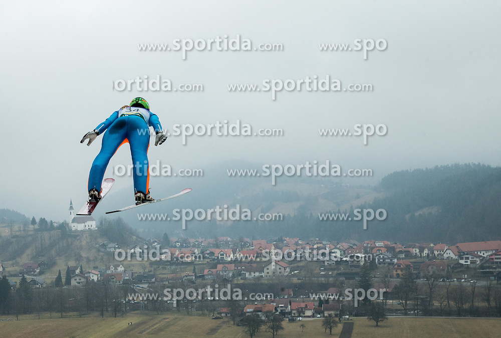 BOGATAJ Ursa (SLO)  during 2nd Round at Day 2 of World Cup Ski Jumping Ladies Ljubno 2017, on February 12, 2016 in Ljubno ob Savinji, Slovenia. Photo by Vid Ponikvar / Sportida